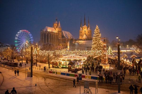 Erfurt Christmas Market 2019 opening times hotels top