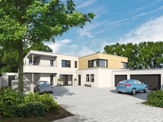 Neubau und Umbau eines Mehrfamilienhauses in Duisburg