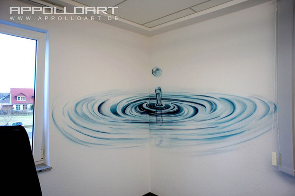 Innenraumdesign Berlin Kunst  AppolloART Graffiti