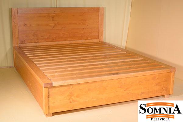 Letti contenitore in legno massello  Somnia Flli Viola