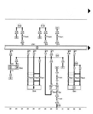 audi a3 wiring diagram  wiring diagrams database bare