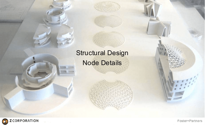 3D Druck im Architektur Modellbau - 3D Systems - DISTRIBUTION