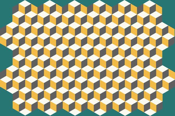 carreaux de ciment hexagonaux