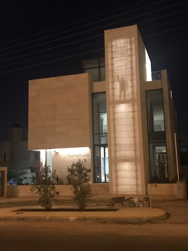 Capital Bank Vip Branch Amman Jordan - Lucem Lichtbeton