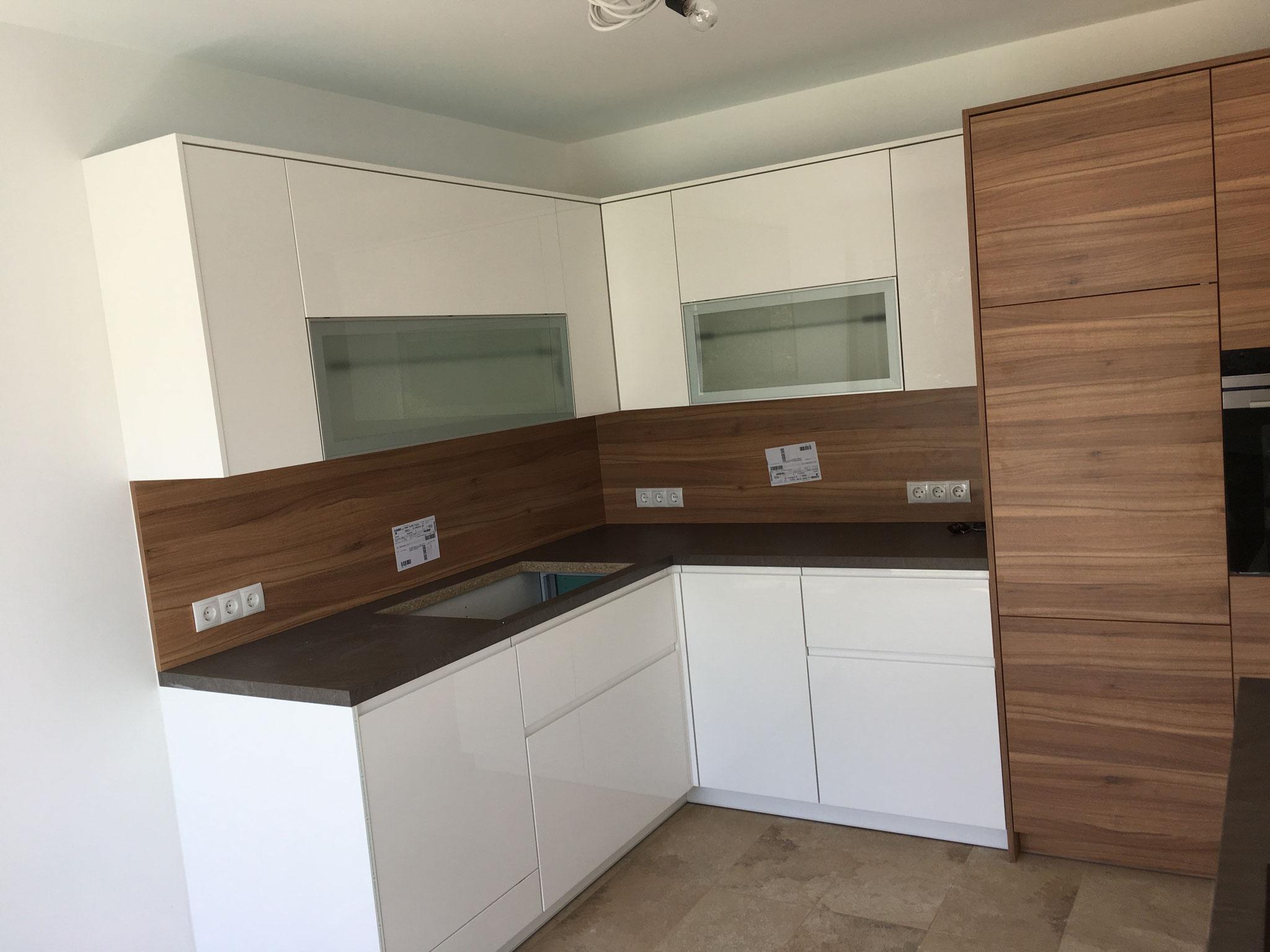 Spülmaschine in ikea küche einbauen offene küche wohnzimmer