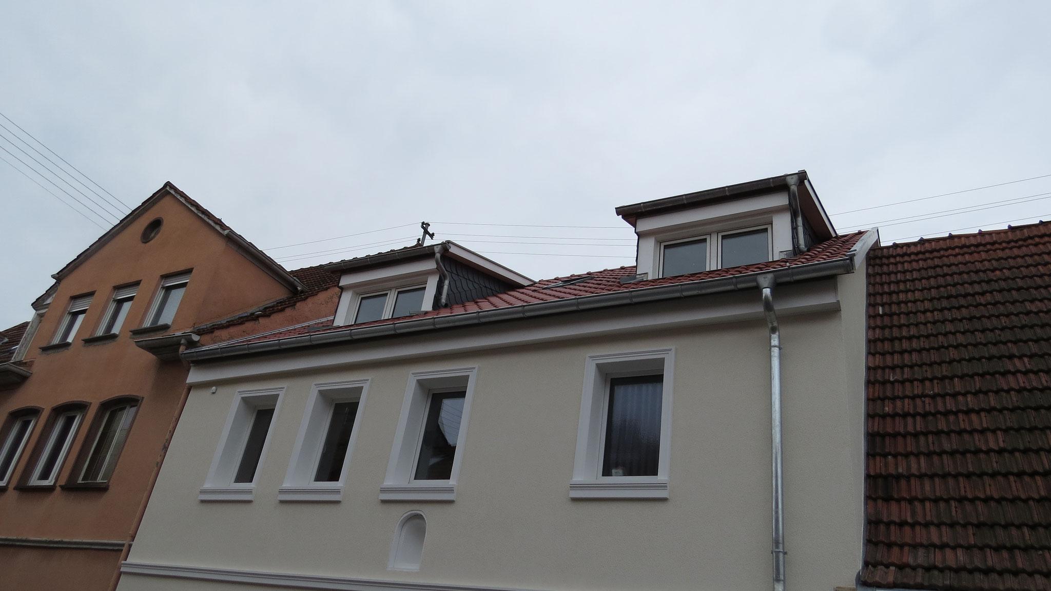 Kernsanierung In Wieblingen - Dörsam Bedachungen Dachdecker Aus