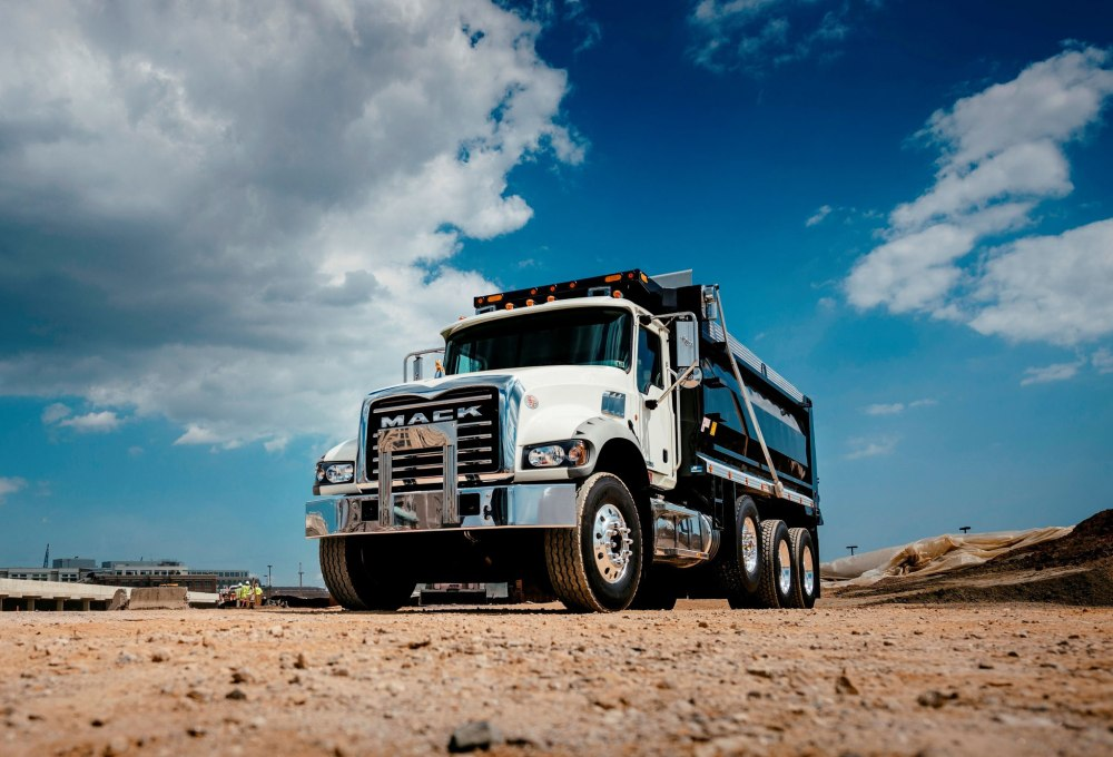 medium resolution of mack granite dump truck