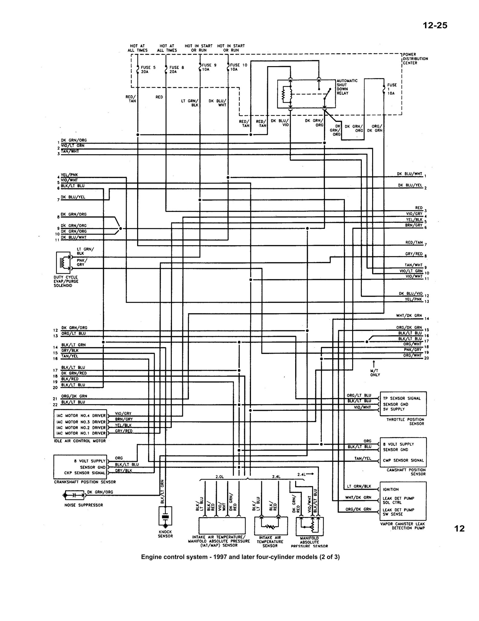 Speaker Wiring Diagram 1999 Chrysler Town And Country