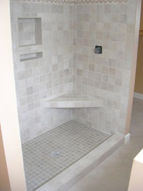 Shelves Amp Benches For Showers Tile Lines
