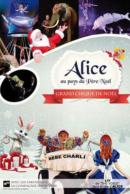 Spectacle : Alice au Pays du Père Noël 2014 - Le Mans