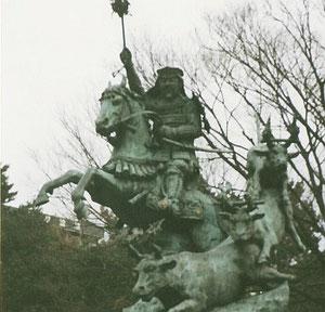北 條 早 雲 - | 日本の騎馬像 | Japanese Equestrian Statues