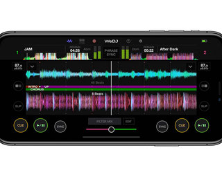 WEDJ Mixer App for Iphone and Android