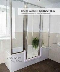 Barrierefreies Bad  Wanne zur Dusche  Begehbare ...