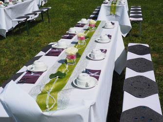 HochzeitstafelDeko  MAKE MY DAY  Das Hochzeitsmagazin
