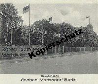 Das Seebad Mariendorf: der Badebetrieb - Infos zu ...