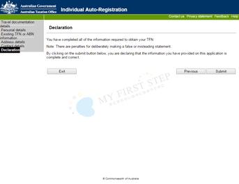 ATO - Individual Auto-Registration 8