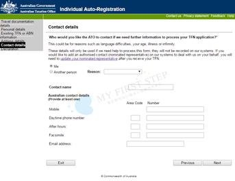 ATO - Individual Auto-Registration 7