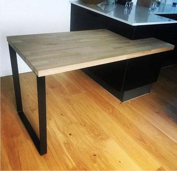 pied de table rectangulaire pour