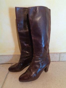 bottes cuir bally p 36 5