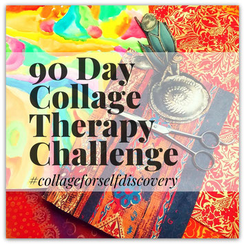90 days of collage