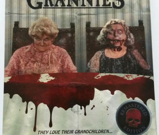 Last Year At Weekend Of Hell I Bought This Dvd Rabid Grannies I Was Intrigued By The Cover I Honestly Had Never Heard Of The Movie Before