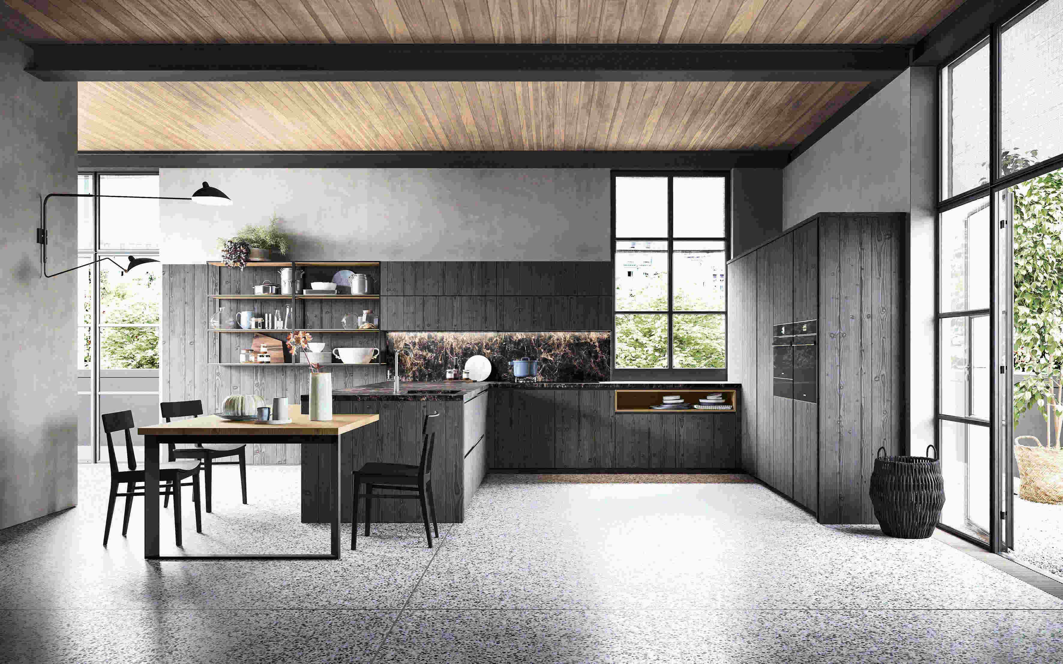 Cucine moderne 2019 tendenze stili e materiali  Peeter