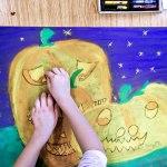 Kurbisse Jack O Lantern Klexbude Kunstunterricht In Der Grundschule