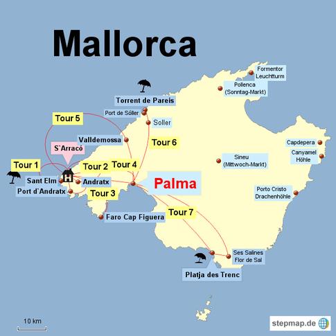 mallorca ausfluge und