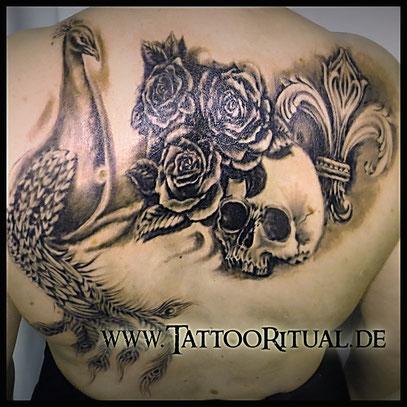 TattooDoktor Lbeck Rostock  Galerie  Reparatur  Cover