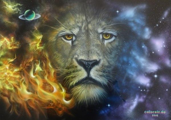 Airbrushbilder Tiere - Airbrush Design Art Custom Painting
