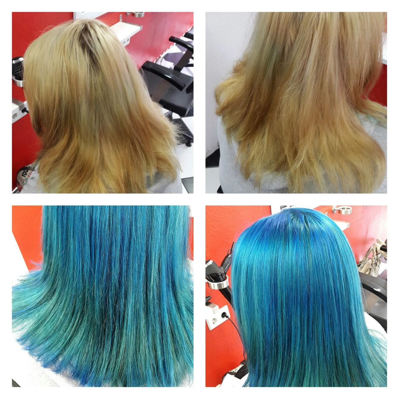 Knallige Haarfarben  americanhaircuts Webseite