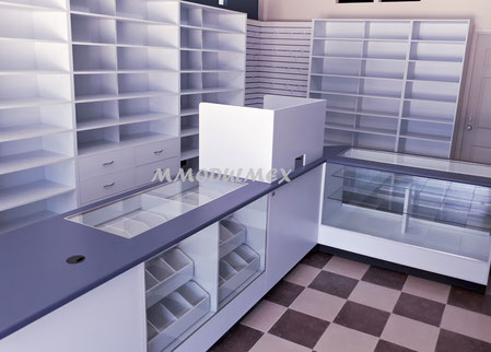 Mueble Para Drogueria Torre Gavetero Para Medicamentos