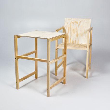 al s chairs and tables pier one chair pads plus do it yourself victoria palm kantiger holzstuhl zum selber bauen als stuhl und tisch table
