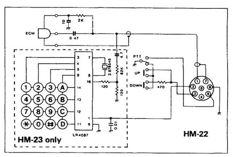 Icom Mic Wiring. Engine. Wiring Diagram Images