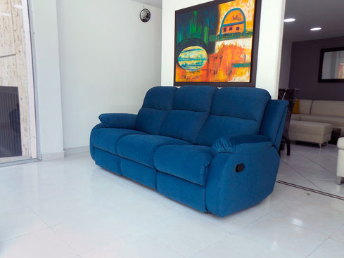 Sofa Reclinable 2 Puestos  Baci Living Room