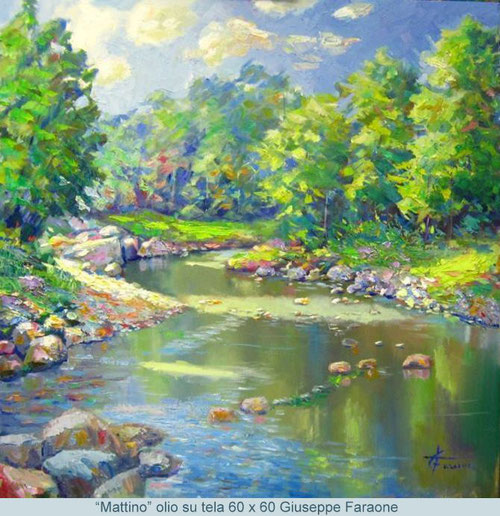 pintores impresionistas actuales Giuseppe Faraone