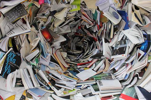 """""""En France, plus de 140 millions de livres sont envoyés à la destruction par an."""""""