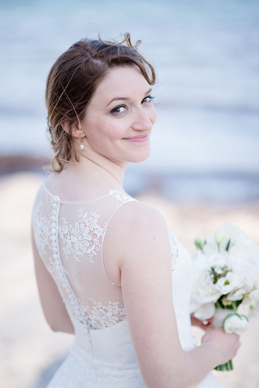 Wunderschne Hochzeit mit Frdeblick  Maren Pokroppa