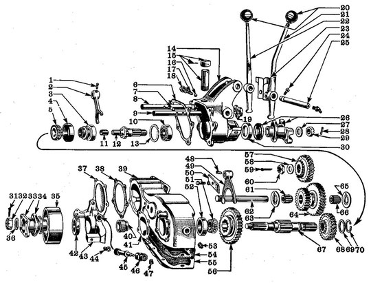 Willys Jeep Engine Diagram Motor