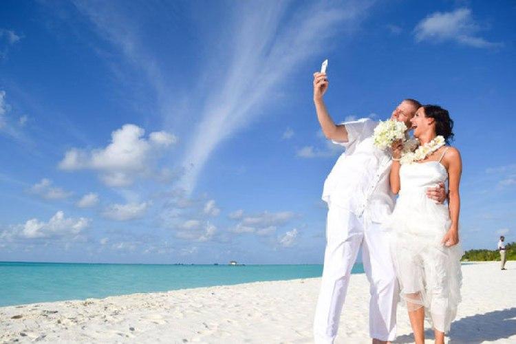 Bryllupsrejser på Maldiverne
