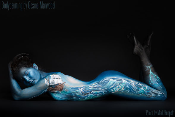 The Art of Bodypainting  Gesine Marwedel Bodypainting