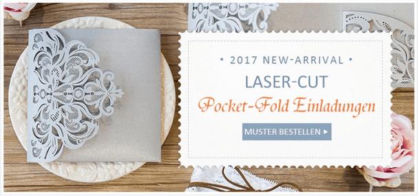 Laser Cut Pocket Fold