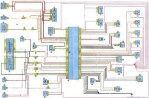 Dacia Service & Repair Manual  Wiring Diagrams