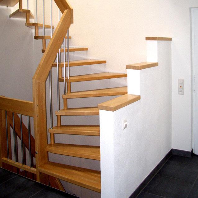Holztreppen modernisieren - Bucher Treppen - Das Original