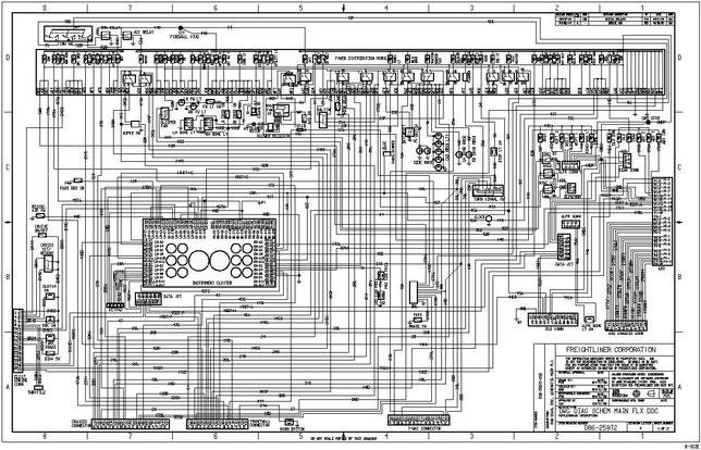 peterbilt fuse panel diagram 25 pair color code 56 wiring schematic pdf - free truck handbooks, diagrams, fault codes