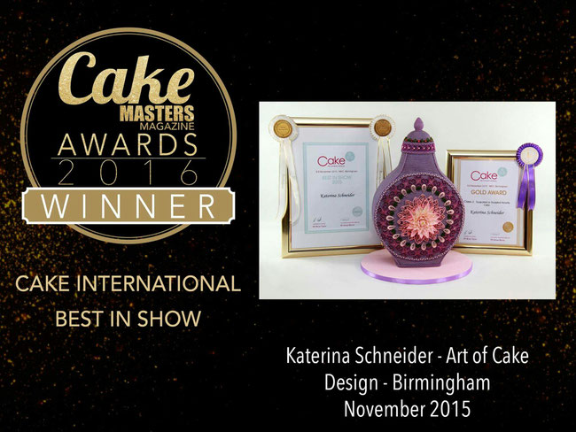Kurse  Katerina Schneider Art of Cake Design Torten
