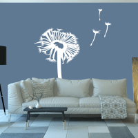 Dandelion | Vinyl | Sticker | Decal - Wall Art Company