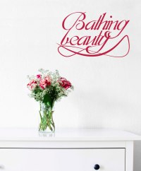 Bathing Beauty | Vinyl | Sticker | Decal - Wall Art Company