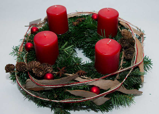 Adventskranz, Weihnachtsdekoration, DIY in Wien - FlowerCompany