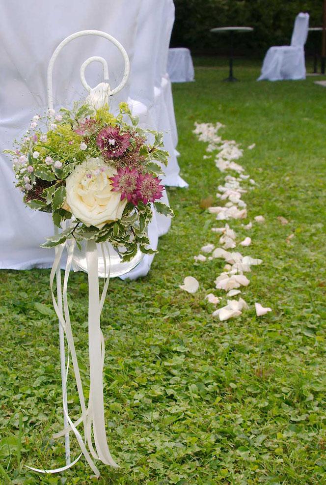 Blumendeko Hochzeit Wien